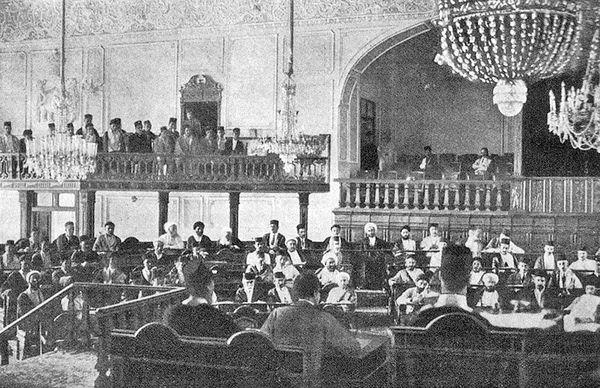 گشایش نخستین پارلمان مشروطه