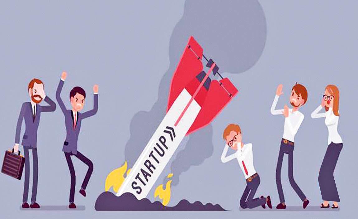 چرا  استارت آپها شکست میخورند