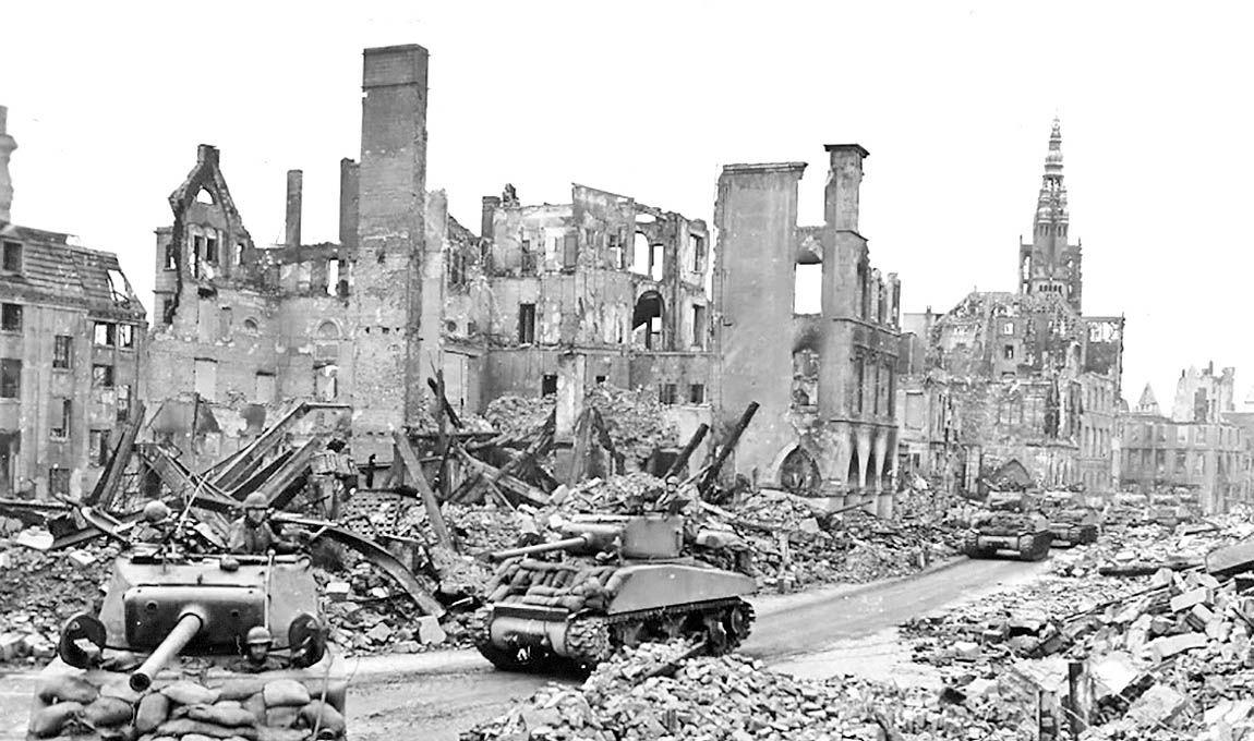 پایان جنگ جهانی دوم