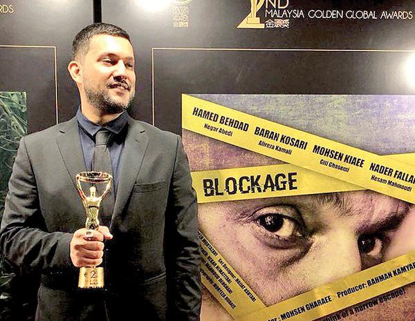 حامد بهداد بهترین بازیگر جایزه گلدن گلوبال شد