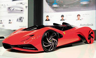 چرخش طراحی خودرو در 2025