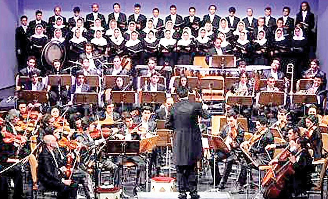 هنرنمایی 4 نوازنده نوجوان در ارکستر سمفونیک تهران