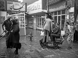 سیل تهران