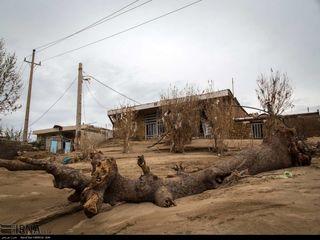 وضعیت شهر معمولان چند روز پس از سیل