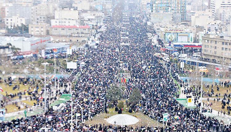 جشن چهلمین سالگرد انقلاب اسلامی
