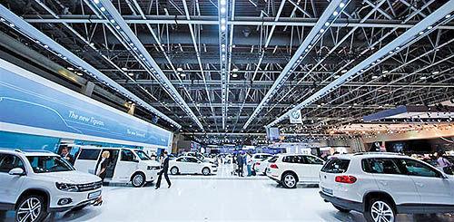 نمایشگاه خودروی دبی برگزار میشود
