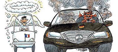 مسابقهای بین خودروهای بد و خوب