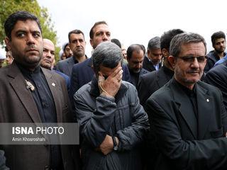 تشییع پیکر داوود احمدی نژاد