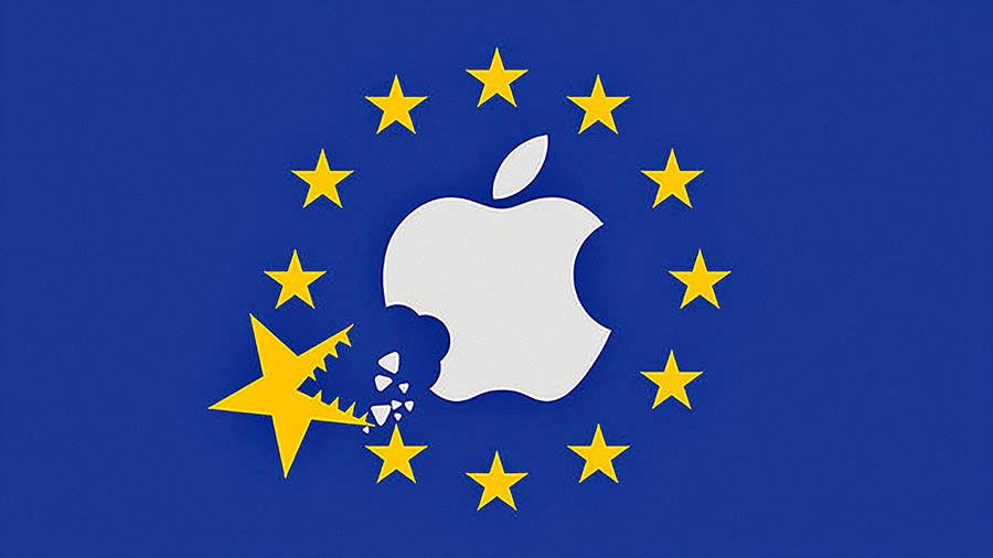 جریمه ۱۵ میلیارد دلاری اپل به اتحادیه اروپا