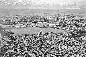 تهران از چشم پرنده