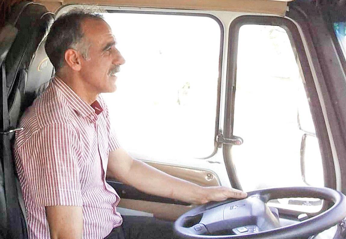 احمدزاده پشت فرمان ملوان