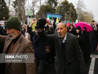 راهپیمایی ۲۲ بهمن در چهل سالگی انقلاب
