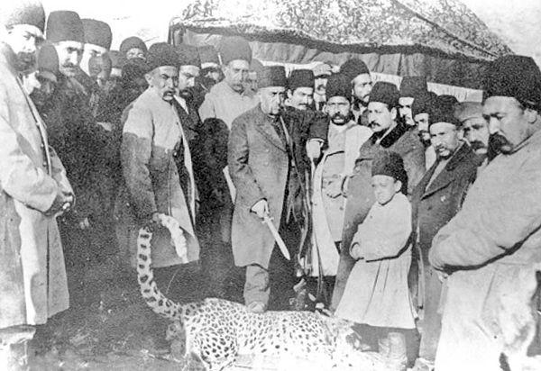 شاهان شکارچی و انقراض پلنگ ایرانی