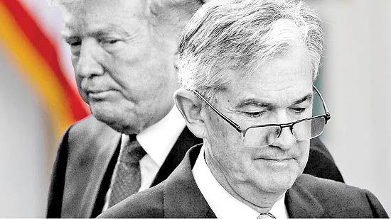 حمله شدید ترامپ به پاول