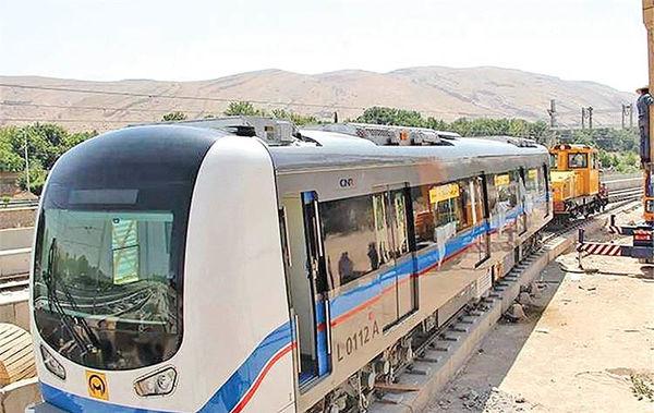 متروی تبریز روی ریل تکمیل