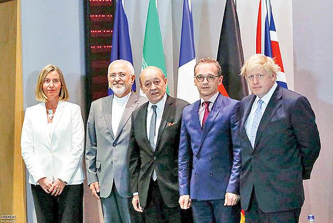 دو حساب اروپا برای ایران