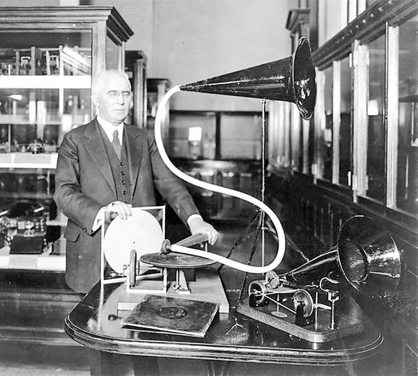 تاجر و مخترع گرامافون