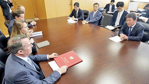 مشاوره انگلستان با ژاپن درخصوص نحوه دور زدن تحریمهای ایران