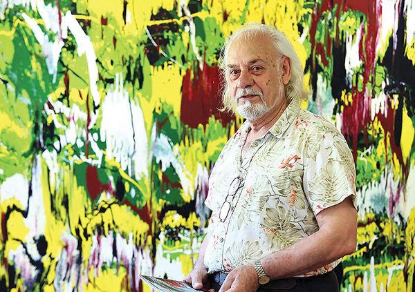 نمایشگاه نقاشی گریگور یعقوبی در نیاوران
