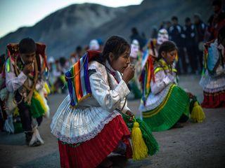 جشن مذهبی «برف و ستاره» در پرو