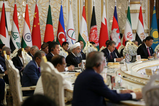 رئیسجمهور در نشست سران کنفرانس تعامل و اعتمادسازی در آسیا (سیکا)