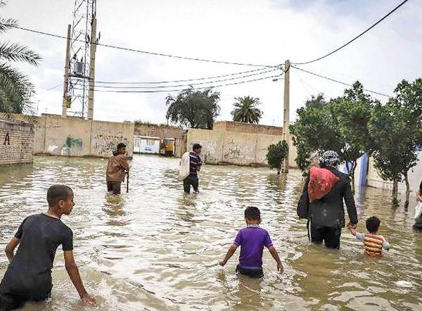 تفاوت سیلاب اخیر خوزستان