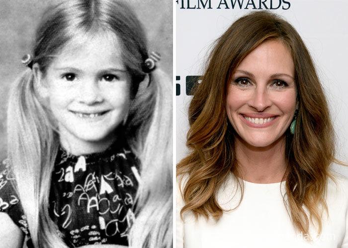 عکسهای کمتر دیده شده از کودکی بازیگران هالیوود