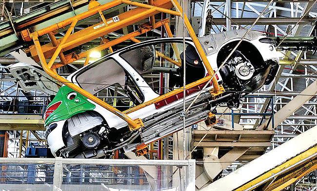 افزایش نرخ تورم تولید خودرو در تابستان