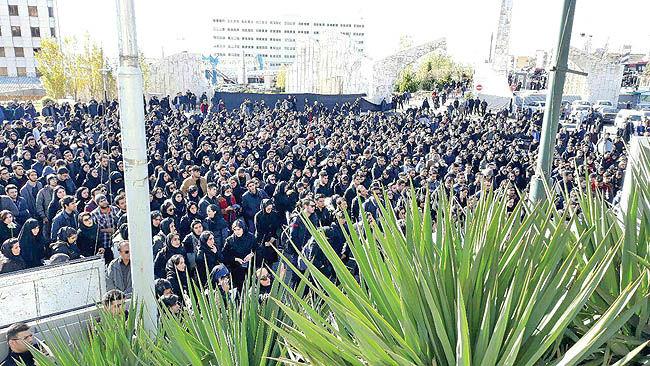 تجمعات اعتراضی دانشجویان دانشگاه آزاد