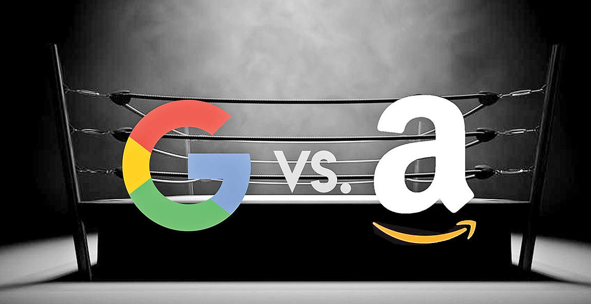 گوگل به جنگ آمازون میرود