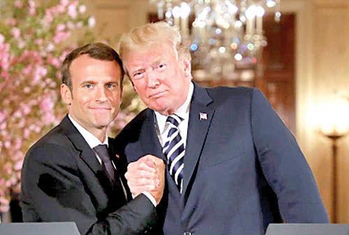 قمار دیپلماتیک مکرون