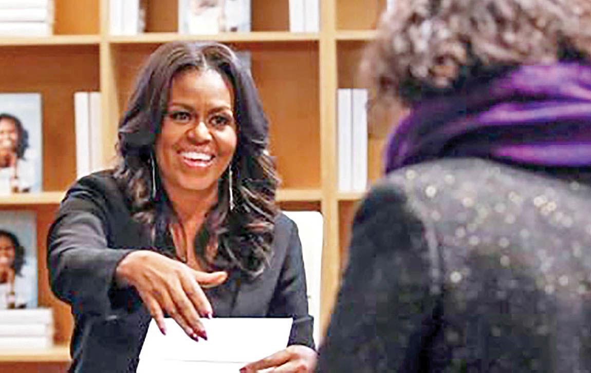 کتاب «میشل اوباما» رکورد زد