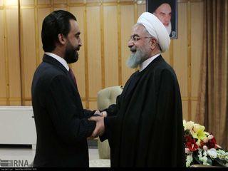 دیدار رئیس مجلس عراق با رئیس جمهور