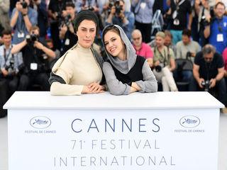 بازیگران و عوامل فیلم جعقر پناهی در فوتوکال جشنواره کن