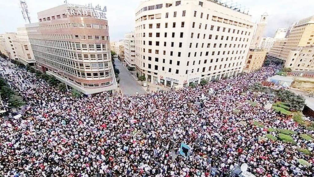 لبنانیها «دولت نجات ملی» میخواهند