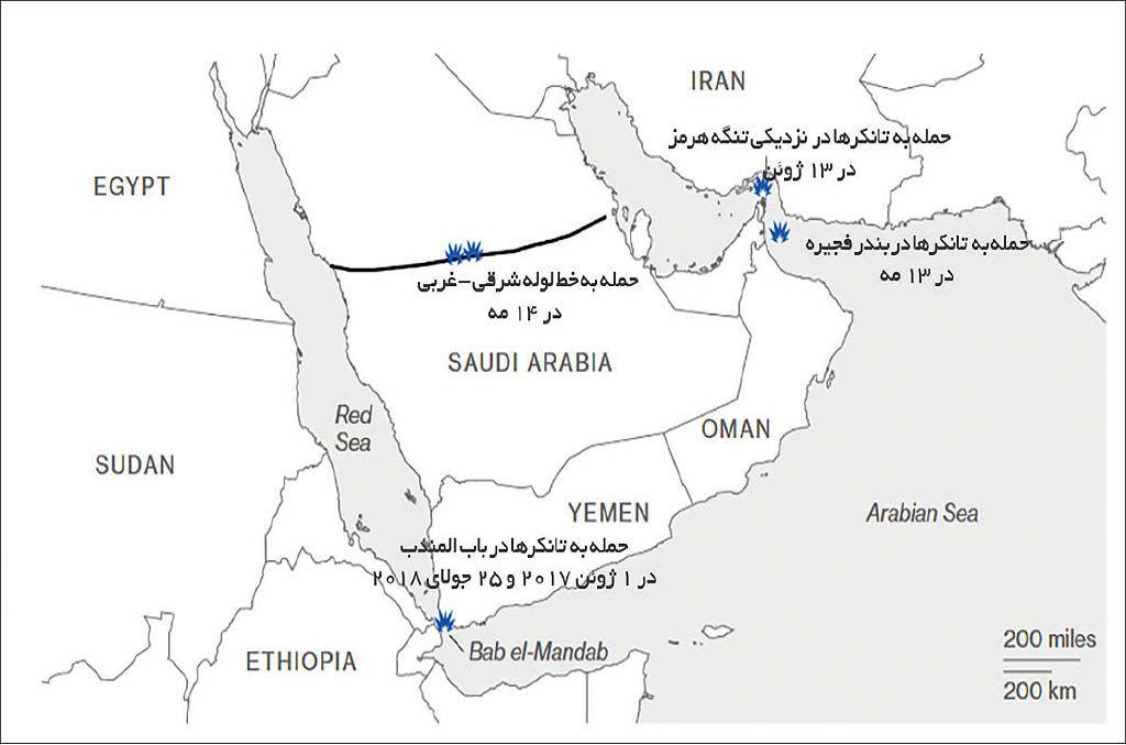 خواب سعودیها برای تنگه هرمز