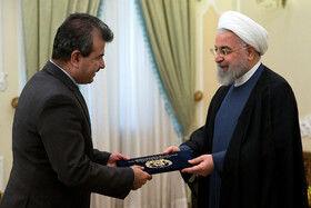 تقدیم استوار نامه سفرای جدید افغانستان به حسن روحانی، رییس جمهور