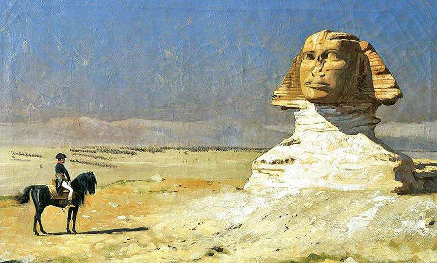 ناپلئون بر ساحل نیل؛ یورش به خاورمیانه