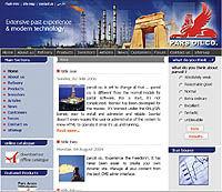 معرفی سایت شرکت نفت پارس - ۱۶ مرداد ۸۵