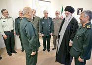 اعطای درجه سرلشکری به فرمانده کل جدید سپاه پاسداران انقلاب اسلامی