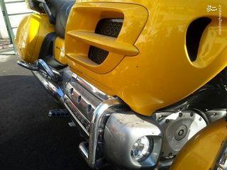 توقیف موتورسیکلت ۱۸۰۰سیسی یک میلیاردی در نیاوران!