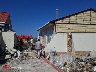 تخریب بیش از ۴۰۰ ویلای غیرقانونی