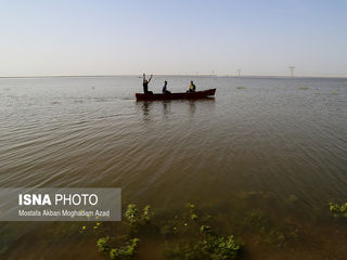 شهر گوریه پس از وقوع سیلاب