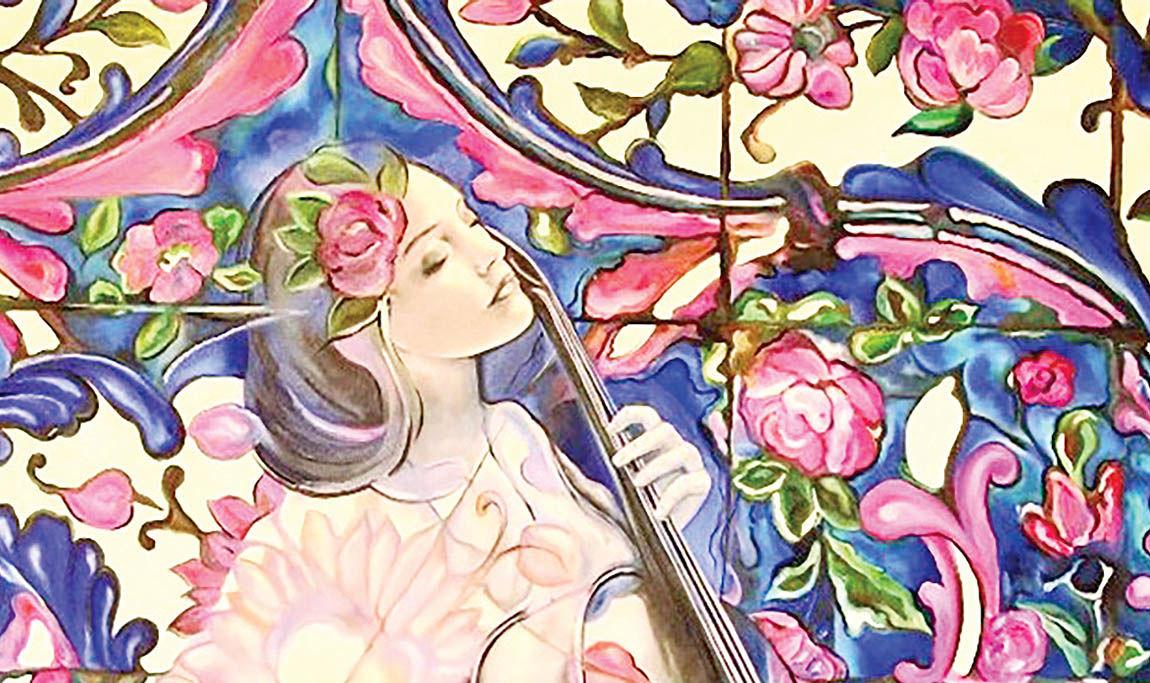 نمایشگاه «گذر از خیال» در گالری گلستان