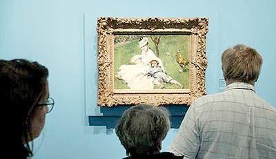 سرقت نقاشی «رنوار» پیش از حراج