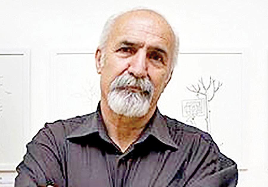 کاریکاتورهای هادی اشرفی در خانه هنرمندان