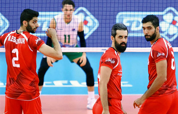 لهستان پل رسیدن والیبال ایران به سکو
