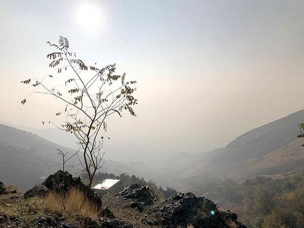 هشدار نارنجی از آسمان تهران