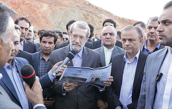 گلایه روحانی از مجلس به روایت لاریجانی