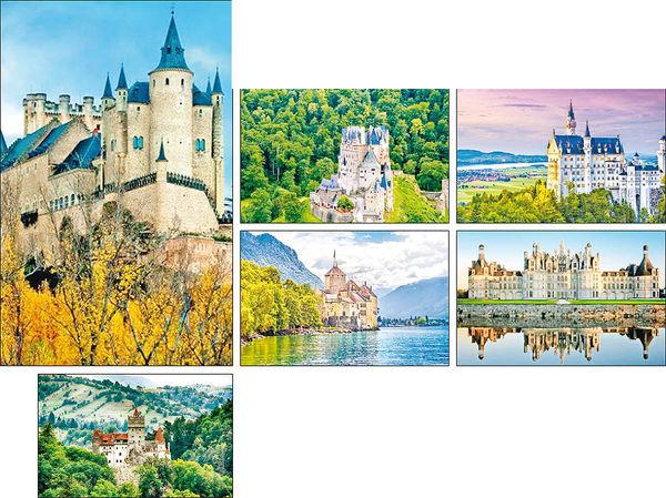 ۱۰ قلعه افسانهای در جهان